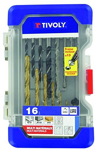 TIVOLY 11901170057 Ranger T16 Mixed Drill Bit Case