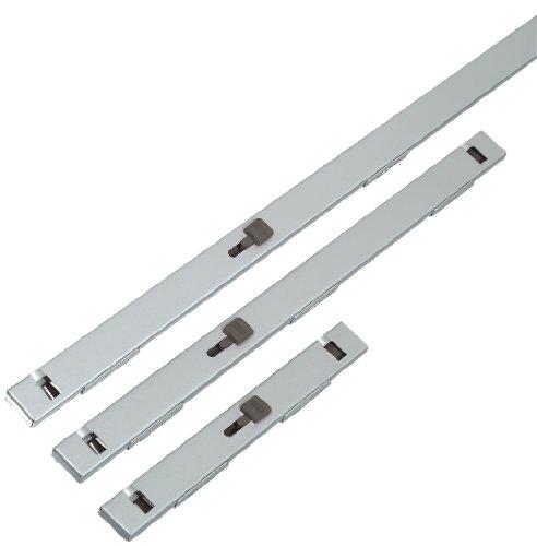 ABUS 07020 225-Inch Chrome File Bar 2 Drawer Grey
