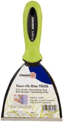 Zinsser 98010 45 Softgrip 4 In 1 Wallpaper Trim Tool