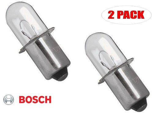 Bosch CFL180 18V Flashlight Replacement 18V Bulb  2610920841 2 Pack