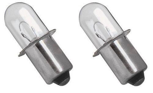 Ximoon 2 18V Xenon Krypton Flashlight Bulb for Black and Decker PC1800L PC18FL FSL18 Porter Cable