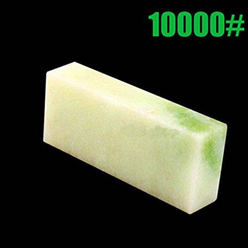 Yosoo Professional Knife Sharpening Stone 10000 Grit Polishing Sharpening Stone Knife Sharpener Whetstone Oilstone Block