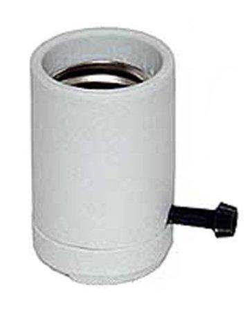 Upgradelights Mogul Base 3-way Porcelain Lamp Socket with Hickey