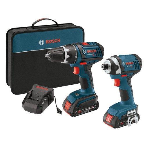 Bosch CLPK234-181 18-V Lithium-Ion 2-Tool Combo Kit DrillDriver Impact Driver