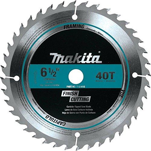 Makita T-01410 40T Fine Crosscutting Carbide-Tipped Saw Blade 6-12