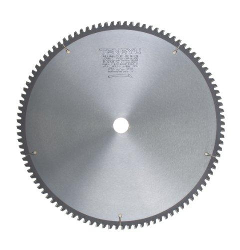 Tenryu AC-355100DN 14 Carbide Tipped Saw Blade  100 Tooth TCG Grind - 1 Arbor - 0118 Kerf