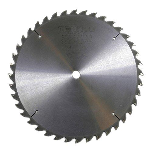 Tenryu RS-25540-U 10 Carbide Tipped Saw Blade  40 Tooth ATAF Grind - 58 Arbor - 0079 Kerf