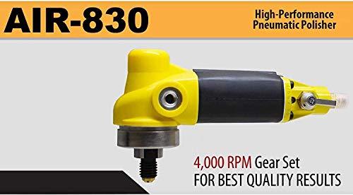 Alpha AIR-830 High Performance Pneumatic Polisher