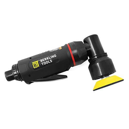 Berkling Tools BT 5201 Professional Grade Composite 2 Mini High Speed Random Orbital Air Sander Pneumatic Polisher and Buffer