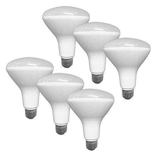 BR30 LED Dimmable Bulb 8 Watt 650 Lumens 4000K 6 Pack