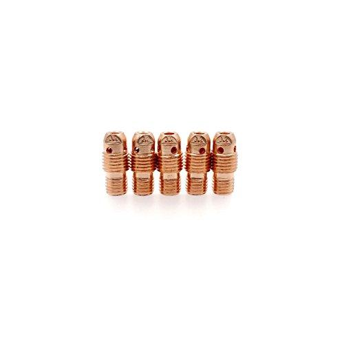 13N29 TIG Welding Collet Body 18 32mm Diameter Collet Adapter fit Torch WP-920 25 PK5