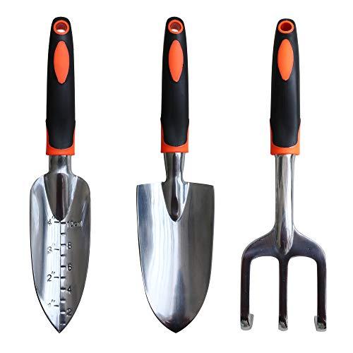 XLD Garden Tool Set - Gardening Gifts Tool Set Including Trowel Cultivator Hand Rake Transplant Trowel