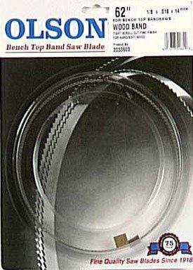 Olson Saw WB51662BL 62-Inch by 18 wide by 14 Teeth Per Inch Band Saw Blade
