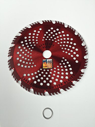 3pk-9-68t -- RENEGADE RAZOR  HYBRID -- COMBO Specialty -- RENEGADE BLADE - Carbide Brush Cutter weed eater Blades 230mm