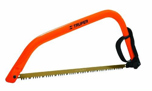 Truper 30255 21-Inch Steel Handle Bow Saw Cam Lever Quick Change Blade Release Orange