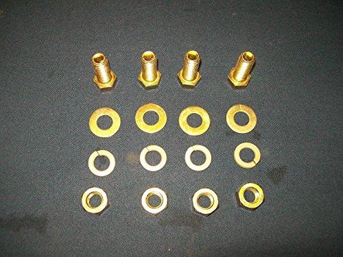 Generic LQ8LQ3049LQ grade 8 grade 8 bolts 16 12 12 coarse 1-12 nu nuts washers washer Hex head 916 4 each lot of 4 each US6-LQ-16Apr15-1746