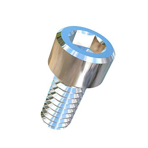 Allied Titanium 0032486 Pack of 25 2-56 X 316 UNC Socket Head Titanium Machine Screw Grade 2 CP