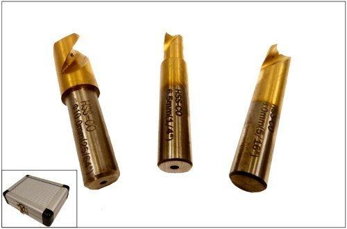 Spot Weld Drill Bit Set Spot Welder Bit Cutter Welding Spot Removal HSCO Bits 14 516 38 Titanium Bits
