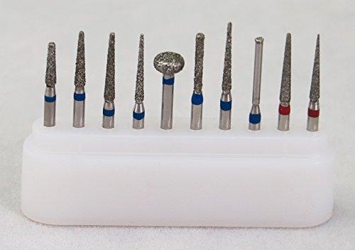 10pcs FG Diamond Burs Kit 160mm Dia-burs