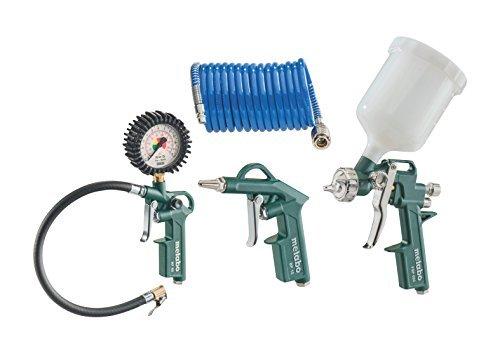 Metabo 60158500 Pressurised Air Tool Set LPZ 4 Set by Metabo