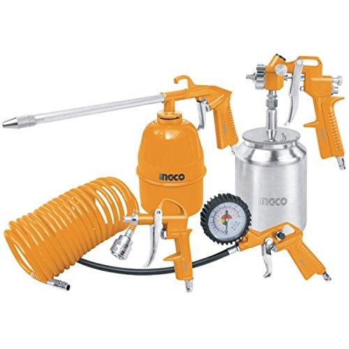 Tools Centre 5 in 1 Superior Quality Air Tools Set Spray Gun