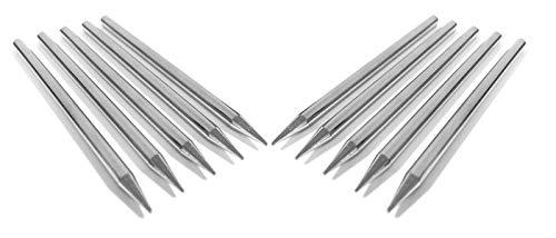 10 Pack Tips Heads for Solder Soldering Iron Gun Repair Tool KTB-40 KTB-30