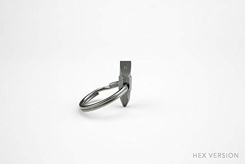 Titanium Pocket Bit - Everyday Carry Screwdriver Bit Hex