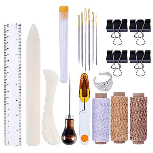 YAOSHIBIAN Leather DIY Tool Set Hemming Tool Handmade Leather Goods Hand Sewing Set Utility
