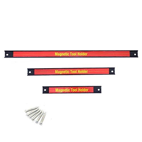 Goplus3 PCS 8 12 18 Magnetic Tool Holder Bar Organizer Storage Rack Knife Wrench