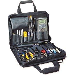 Jensen Tools Jtk-86Bk TechnicianS Tool Kit In Single Black Cordura Plus Case by Jensen