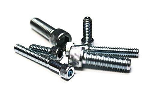 100010-24x2 Partially Threaded -Socket Head Cap Screws - Zinc