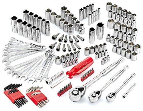 Powerbuilt 640745 SAE and Metric Mechanics Tool Set 161 Piece by Powerbuilt