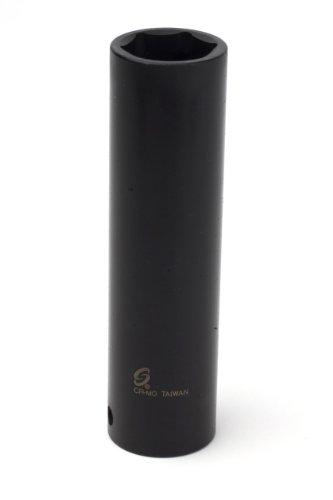 Sunex 221mxd 12-Inch Drive 21-mm Extra Deep Impact Socket