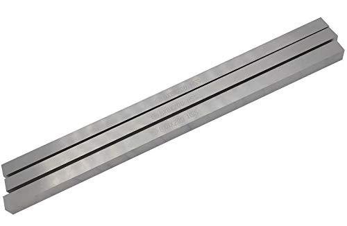 NGe Lathe HSS Tool Bit, High Speed Steel Square Tool Bits Turning Grinder Cutting Bar Fly Cutter Mill Blank 8mm x 8mm x 200mm516 x 516 x 8 3Pcs