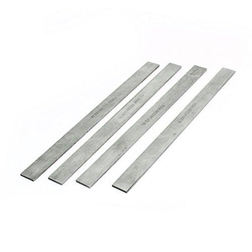 Parallelogram Metalworking Cutting Lathe HSS Tool Bit 2x14x200mm 4 Pcs