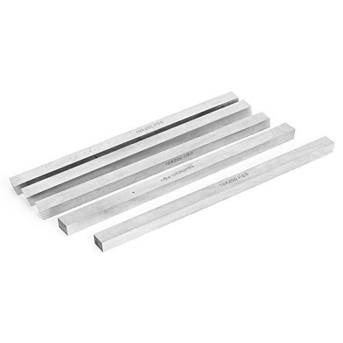 uxcell 10mm X 10mm X 200mm HSS Cutter Tool Bit Lathe Milling Boring Bar 5pcs