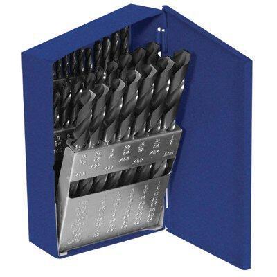 60138 29 Pc Hss Metal Drill Set W Index