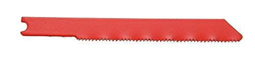 Ethan 48534 HSS Metal Cutting U-Shank Jig Saw Blade 5-Inch by 24TPI 5-Pack