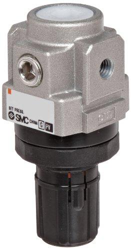 SMC AR10-M5B-Z Regulator Relieving Type 725 - 101 psi Set Pressure Range 5 scfm No Gauge With Bracket M5 Metric Thread
