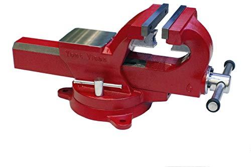 Yost Vises ADI-6 6 Inch 130000 PSI Austempered Ductile Iron Bench Vise with 360-Degree Swivel Base superseding Yost FSV-6