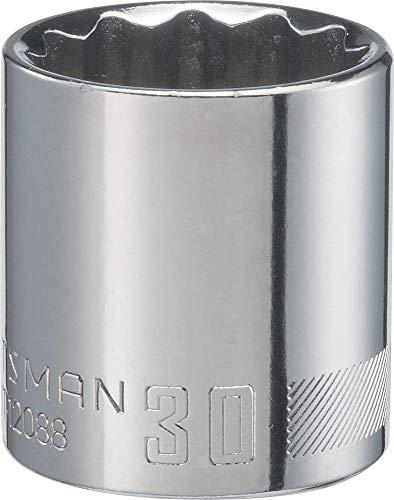 CRAFTSMAN Socket Metric 12-Inch Drive 30mm 12-Point CMMT12088