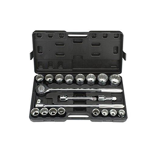 20 Pc 34 in Drive SAE Jumbo Heavy Duty Socket Set