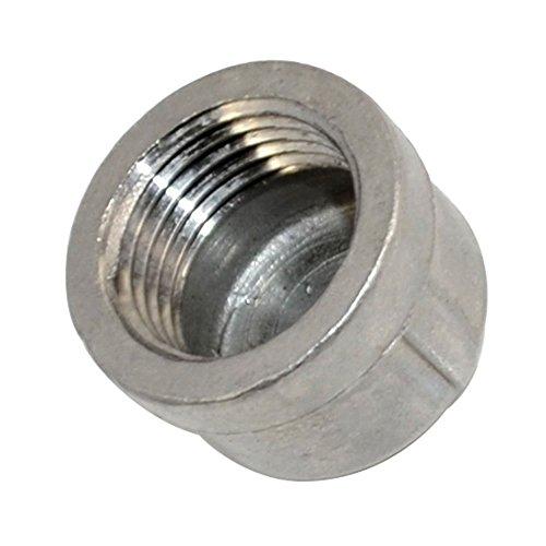 Megairon 12 05 CapNPT Female Threaded Cast Pipe FittingStainless Steel 304