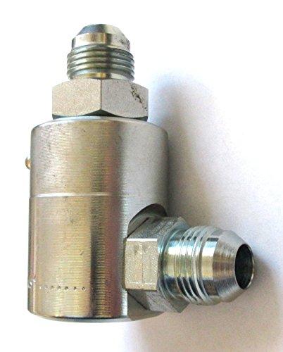 SS 9SS16MJ16XMJ16-Z- - Super Swivel - 1 Male JIC X 1 Male JIC - 90 Degree