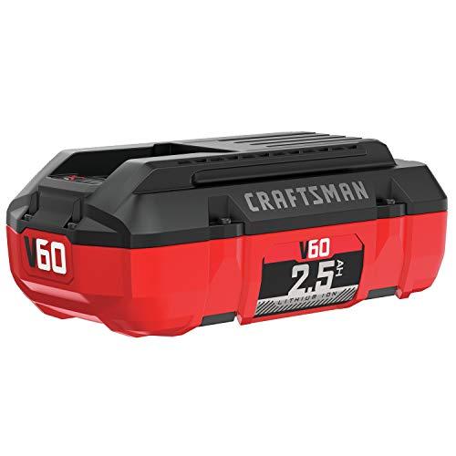 CRAFTSMAN V60 Battery 25 Ah Lithium Ion CMCB6025