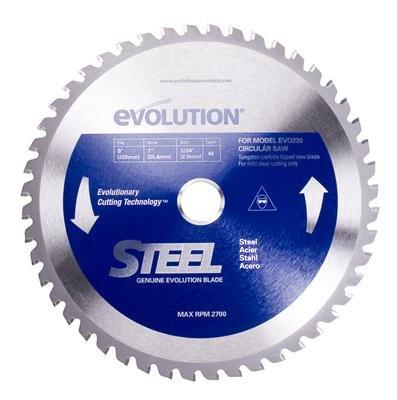 7-14 Inch Evolution Steel Circular Saw Blade - With Arbor Reducer 185BLADEST