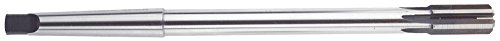 Morse Cutting Tools 22955 Expansion Reamer High-Speed Steel Bright Finish Straight Flute 1 Morse Taper Shank 6 Flutes 916 Size