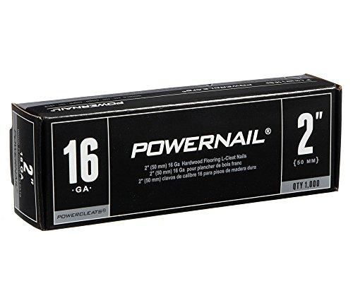 Powernail 16ga 2 L-Cleat Flooring Nail 1000ct Box of PowerCleats