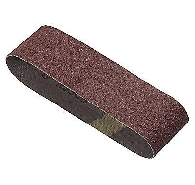 Bosch SB3R120 3-Inch X 18-Inch Sanding Belt Red 120 Grit 3-Pack