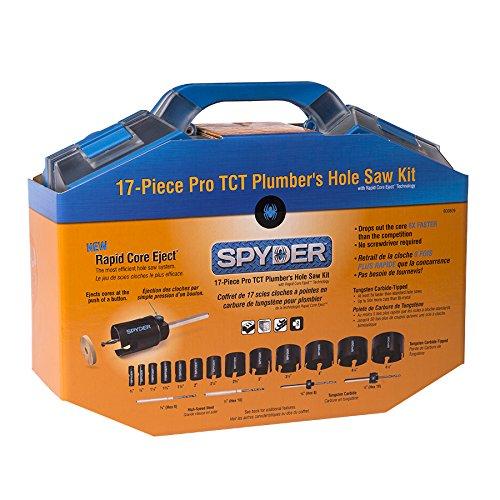 Spyder Hole Saw Kit 2 in 17 Pcs